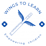 Circle Logo WINGS TO LEARN Empowering children